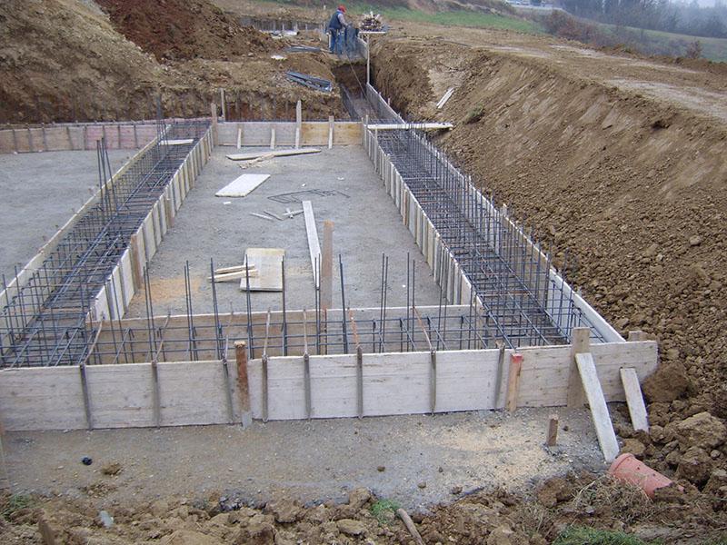 Opere in cemento armato ristrutturazioni la stella - Costruzione piscina in cemento armato ...