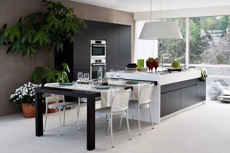 cucina con tavolo a scomparsa Eccezionale Cucina Con Tavolo ...